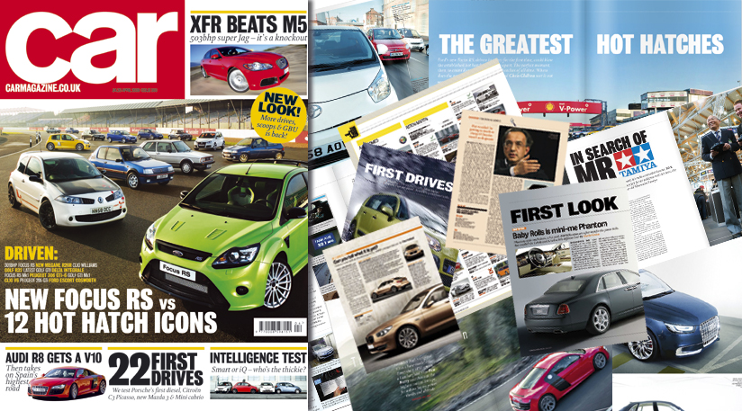 Newly redesigned Car magazine